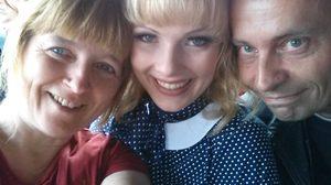 Christel,Denise und André